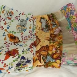 Medium shopper bag, fully lined. Easily folds to store in a handbag.