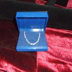 Plain 24inch chain. 925 silver.